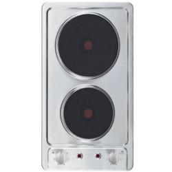 Plita PKM 23045,oțel inoxidabil, buton, număr de plite: 2