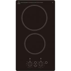 Plita PKM 23203, sticlă ceramică, buton, număr de plite: 2
