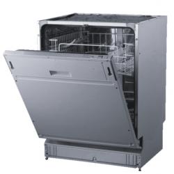 Mașina de spălat vase PKM 40016,alb, panou de control din oțel inoxidabil, clasa de eficiență energetică E