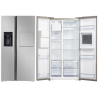Side by Side WOLKENSTEIN 21607,clasa de eficiență energetică F, volum util pentru răcire 372 litri