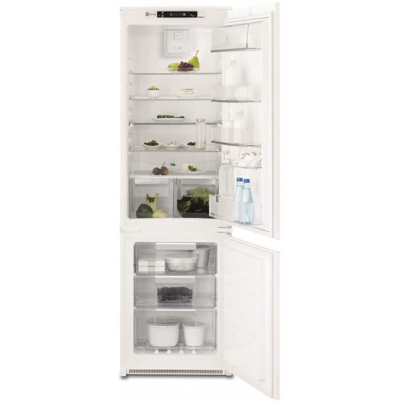 Combina frigorifica incorporabila No Frost Electrolux ENN2853COW, 263 l, Clasa A+, H 178 cm