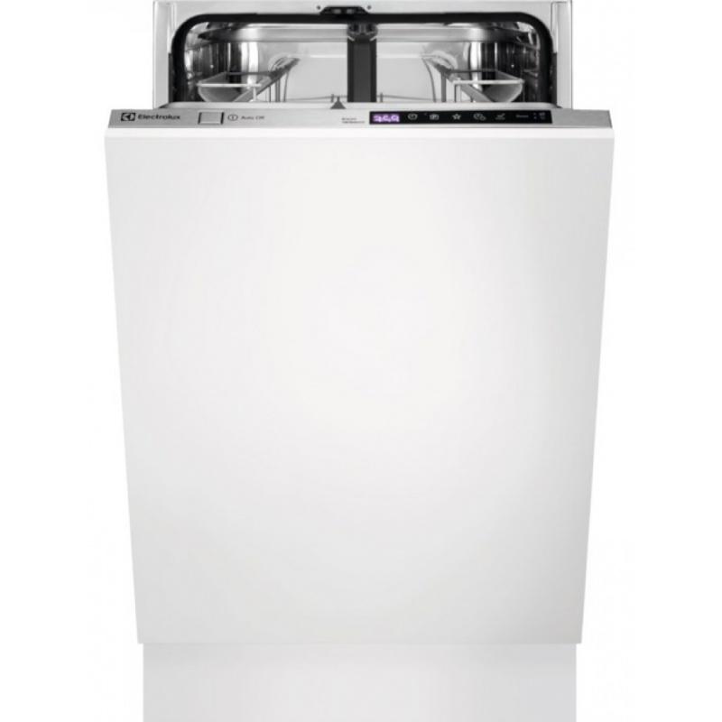Masina de spalat vase incorporabila Electrolux ESL4655RO, 9 seturi, 7 programe, Motor inverter, 45 cm, Clasa A+++, Inox