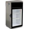 Vitrina frigorifica U5 IQ 500x483x1000 mm gri argintiu