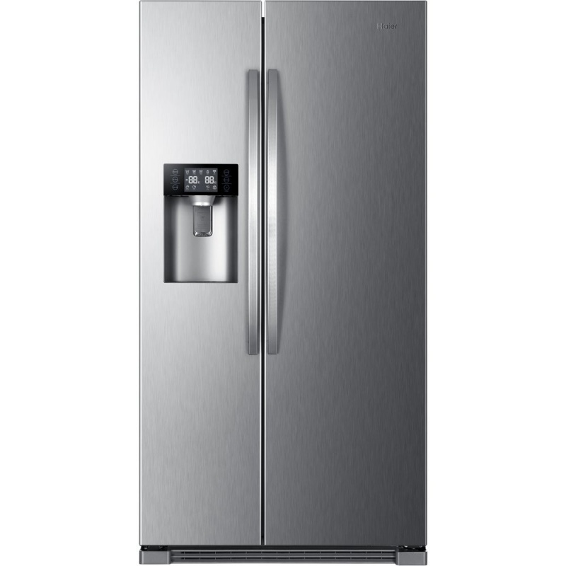 Combina frigorifica Side by Side Haier HRF-630IM7, 555 l, No Frost, clasa A++, Inox title=Combina frigorifica Side by Side Haier HRF-630IM7, 555 l, No Frost, clasa A++, Inox