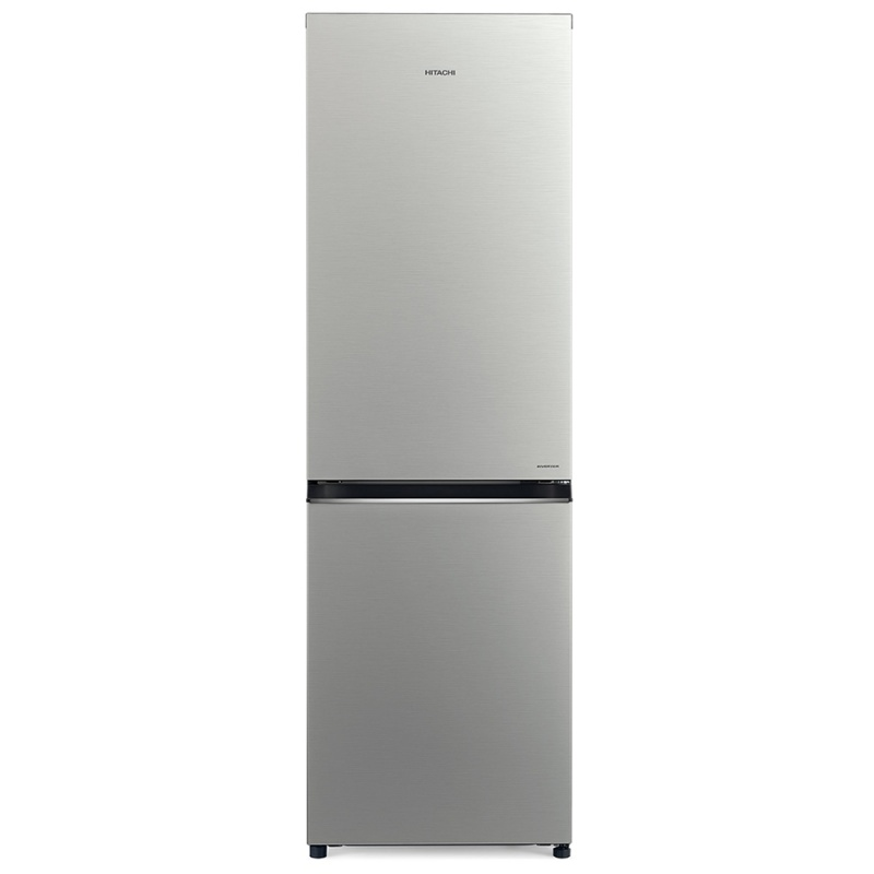 Combina frigorifica Hitachi R-B410PRU6(SLS), 330 L, clasa A++, 219 kWh/an, No Frost, Argintiu