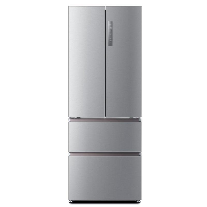 Combina frigorifica Haier HB16FMAA, Clasa A+, 424 litri, latime 70 cm, Inox