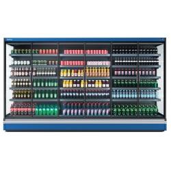 Vitrina frigorifica expunere supermarket INFRICO MX12DGM0, capacitate 933 L, latime 125 cm, rafturi drepte, -1ºC / +4ºC