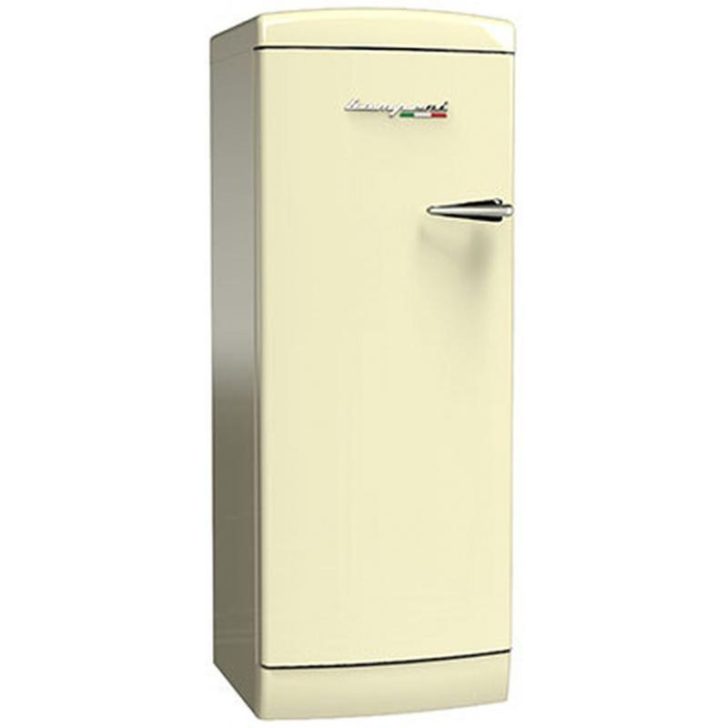 Frigider cu o usa Retro Bompani BOMP111/C, Clasa A++, 275 litri, Latime 60 cm, Crem
