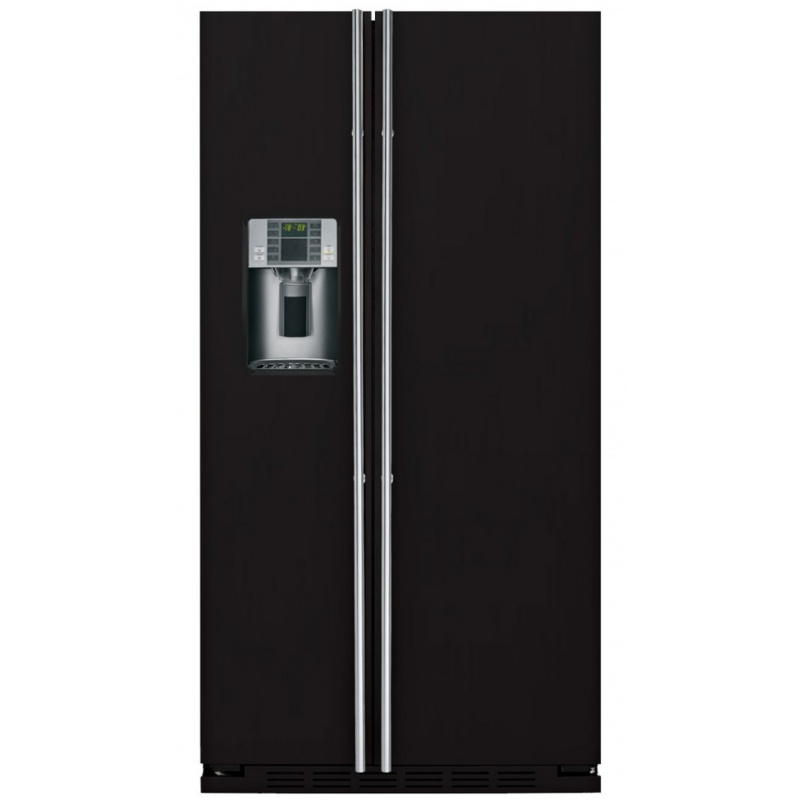 Side by side IOMABE Exclusive V Series ORE24VGF8B, clasa A+, 528 l, No Frost, Negru