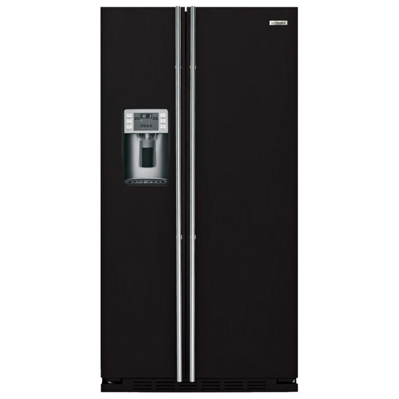 Side by side IOMABE Luxury K Series ORE24CGF8B, clasa A+, 572 l, No Frost, Negru