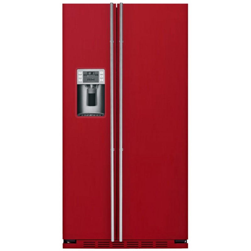 Side by side IOMABE Luxury K Series ORE24CGF8R, clasa A+, 572 l, No Frost, Rosu
