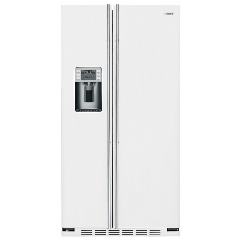 Side by side IOMABE Luxury K Series ORE24CGF8W, clasa A+, 572 l, No Frost, Alb