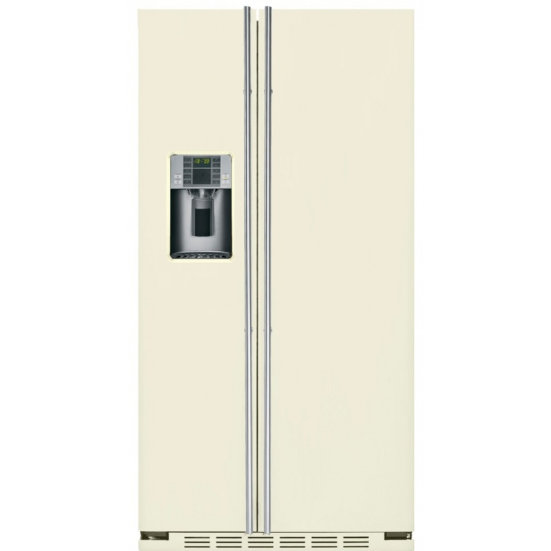 Side by side IOMABE Luxury K Series ORE24CGF8C, clasa A+, 572 l, No Frost, Crem