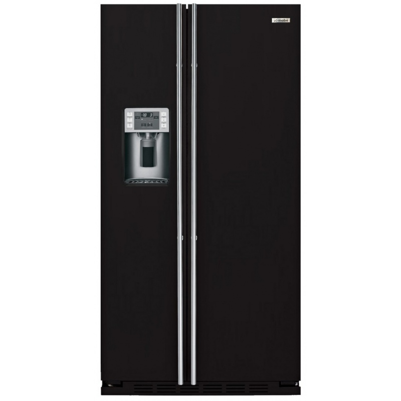 Side by side incorporabil IOMABE Luxury K Series ORE24CGF3B, clasa A+, 572 l, No Frost, Negru