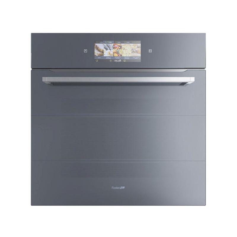 Cuptor electric incorporabil FOSTER One Touch 7106 643 60cm, 67l, negru-oglinda