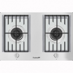 Plita incorporabila Foster FL 7203032, instalare STD, gaz, 86cm , 3 arzatoare, aprindere electrica, siguranta gaz, inox