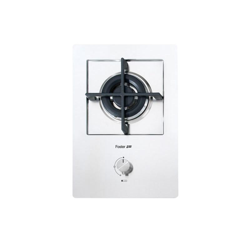 Plita incorporabila Foster KE Domino 7624032, instalare FT/FTS, gaz, 32cm , 1 arzator, aprindere electrica, siguranta gaz, inox