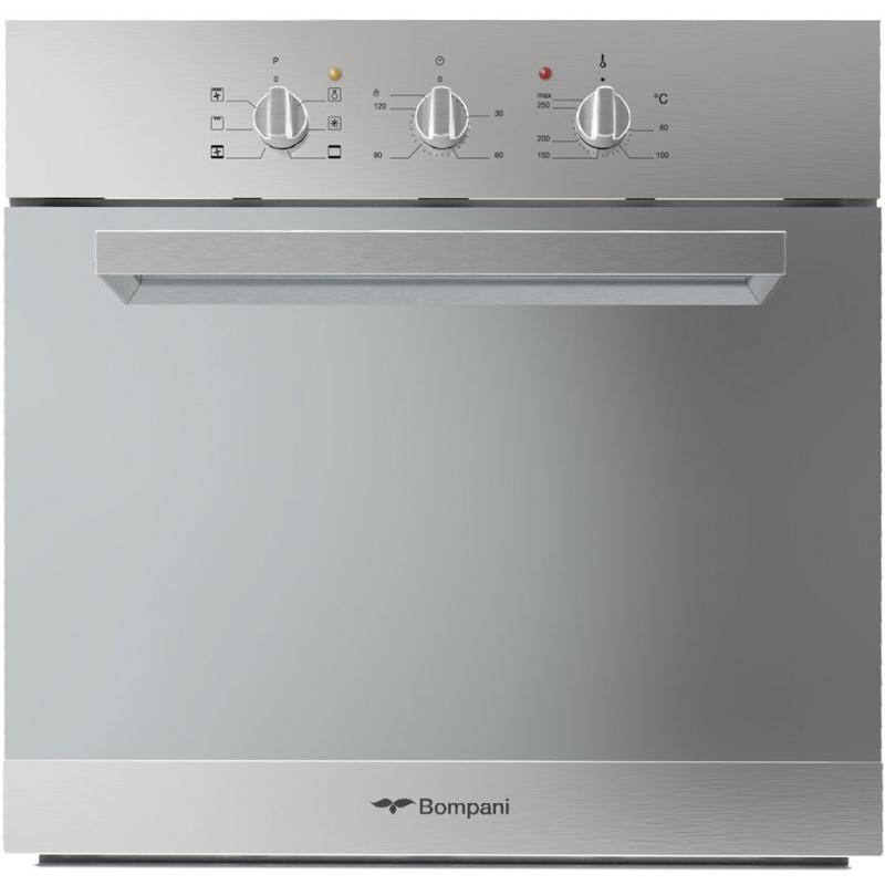 Cuptor incorporabil Bompani Italia BO243ZY/E, electric, multifunctional, 60cm, 54l, Inox