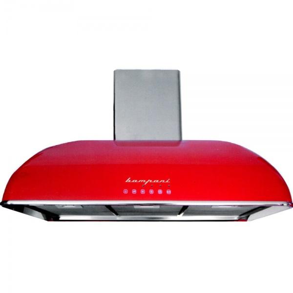 Hota Bompani Retro BOCR904/R, 90 cm, 1 motor, touch control, rosu