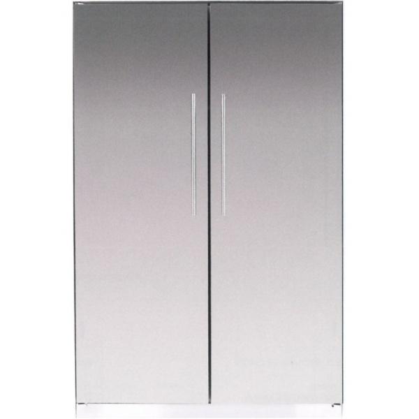 Side by Side combinat Bompani BO07601/E+BO07600/E, 632 litri, clasa A+, No Frost, Inox