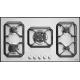 Plita incorporabila Lofra Nettuno HLS9A0, 90 cm, plita gaz, 5 arzatoare,sistem siguranta Stop-Gaz,inox