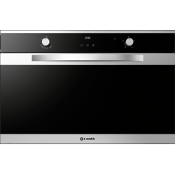 Cuptor electric incorporabil Smalvic LINEAR FI-95MT B , 90cm, 110l, grill electric, inox si negru