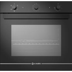 Cuptor gaz incorporabil Smalvic GLASS NERO FI-74GEVTC, 60cm, 74l, grill electric, negru