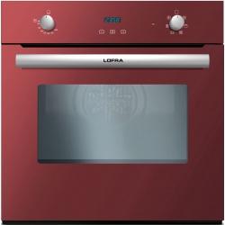 Cuptor incorporabil LOFRA GAIA FOVR66GE, incorporabil, 60cm, 66l, grill electric, cuptor gaz, rosu
