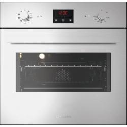 Cuptor electric incorporabil Smalvic QUADRO FI-60MTB, 60cm, 64l, grill electric, inox si negru