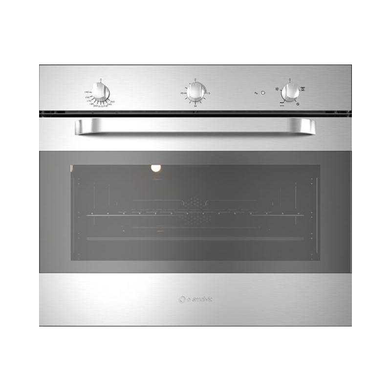 Cuptor gaz incorporabil Smalvic TARGET FI-70GEVTC, 70 cm, 75l, grill electric, inox
