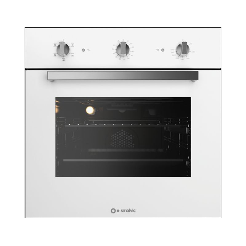Cuptor electric incorporabil Smalvic BASIC FI-64WTS, 60 cm, 64l, grill electric, alb
