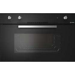 Cuptor gaz incorporabil Smalvic BASIC FI-90GETC, 90 cm, 77l, grill electric, negru