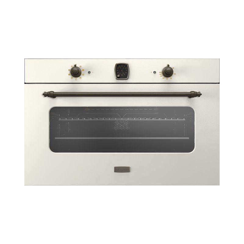 Cuptor electric incorporabil Smalvic CLASSIC FI-95MTR, 90 cm, 110l, grill electric, alb retro