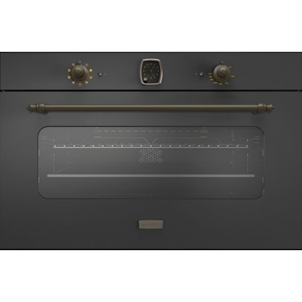 Cuptor electric incorporabil Smalvic CLASSIC FI-95MTR, 90 cm, 110l, grill electric, negru antracit