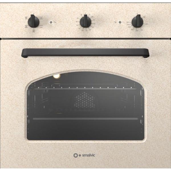 Cuptor electric incorporabil Smalvic COUNTRY FI-64WTS R61, 60 cm, 64l, 5 functii, avena