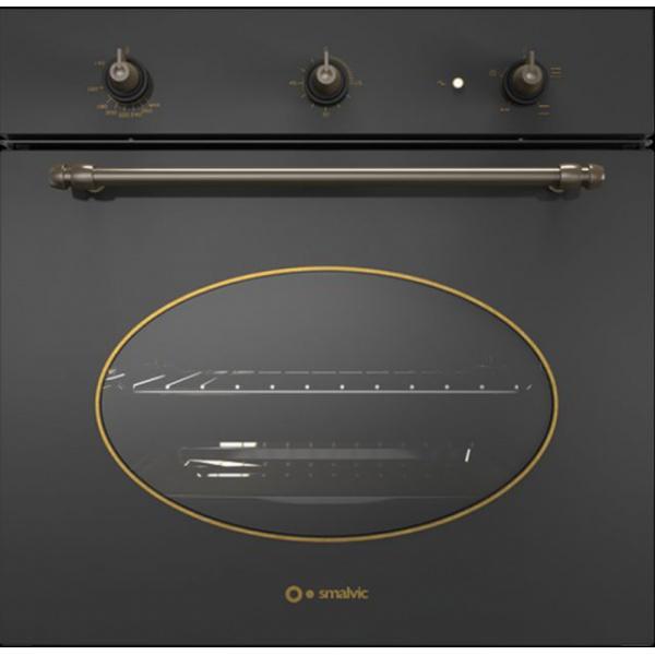 Cuptor gaz incorporabil Smalvic COUNTRY FI-64GETC, 60 cm, 64l, grill electric, cupru