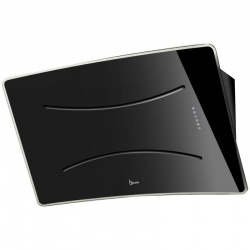 Hota design Baraldi Roxy 01ROX090BL80, 90 cm, 800 m3/h, sticla neagra
