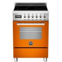 Aragaz Bertazzoni Profesional PRO604IMFESART, 60x60 cm, inductie, 4 zone gatit, cuptor electric multifunctional, portocaliu