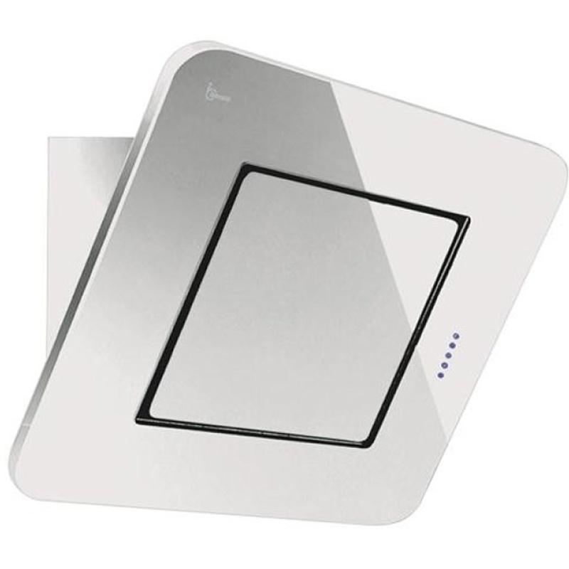 Hota design Baraldi Galaxy Glass Mini 01GAM060WH80, 60 cm, 800 m3/h, sticla alba