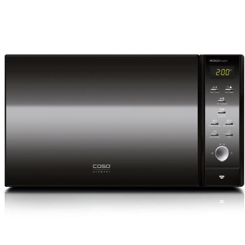 Cuptor cu microunde Caso MCDG 25 master Black,900W microunde,1500W grill,negru