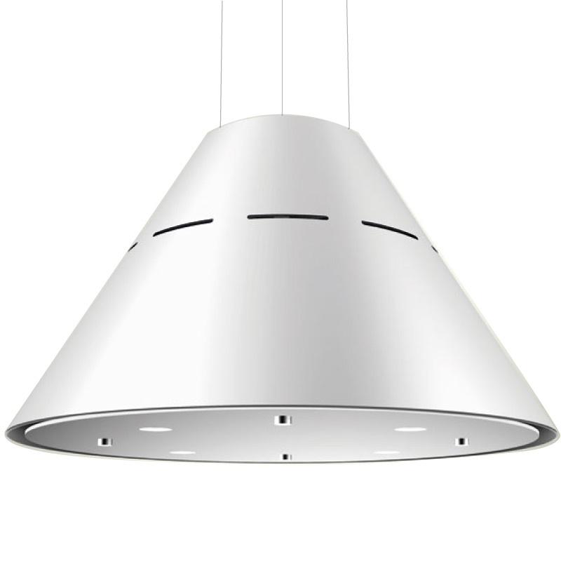 Hota design suspendata Baraldi Eva 01EVAIS060WH80, 60 cm, 800 m3/h, Alb