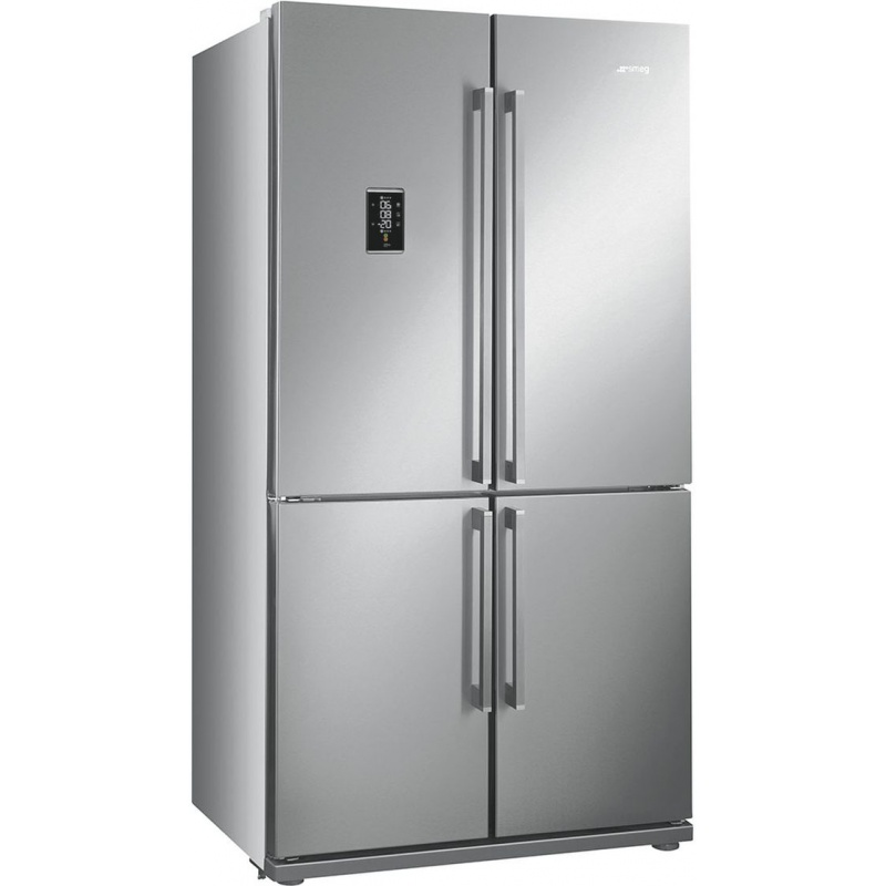 Side by side SMEG FQ60X2PE, Clasa A++, 610 litri, Latime 92 cm, total No Frost, 4 usi, inox