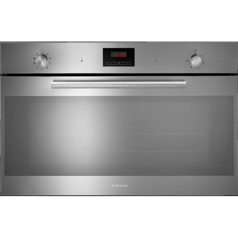 Cuptor incorporabil TECNOGAS MODERNO FM969X, incorporabil, 90cm, 125l, grill electric, inox