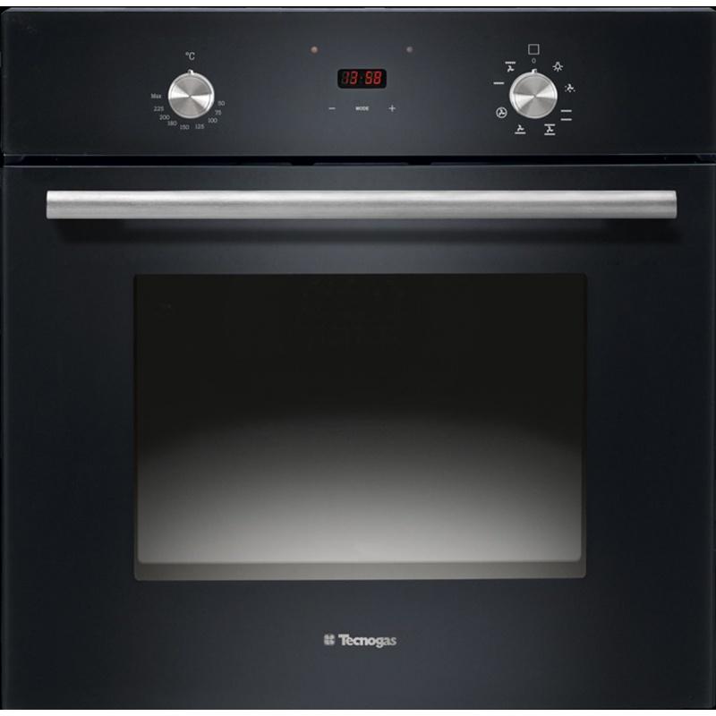 Cuptor incorporabil TECNOGAS MODERNO FM683BK, incorporabil, 60cm, 65l, grill electric, negru lucios