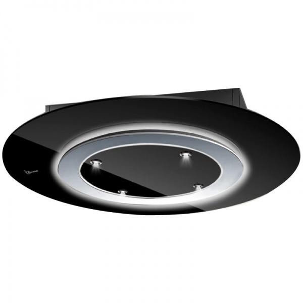 Hota de tavan Baraldi Comet free 01CMTFR090STB90, 90 cm, 900 m3/h, Negru/inox