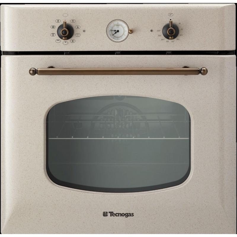 Cuptor incorporabil TECNOGAS RETRO FRB690A, incorporabil, 60 cm, 65l, grill electric, avena