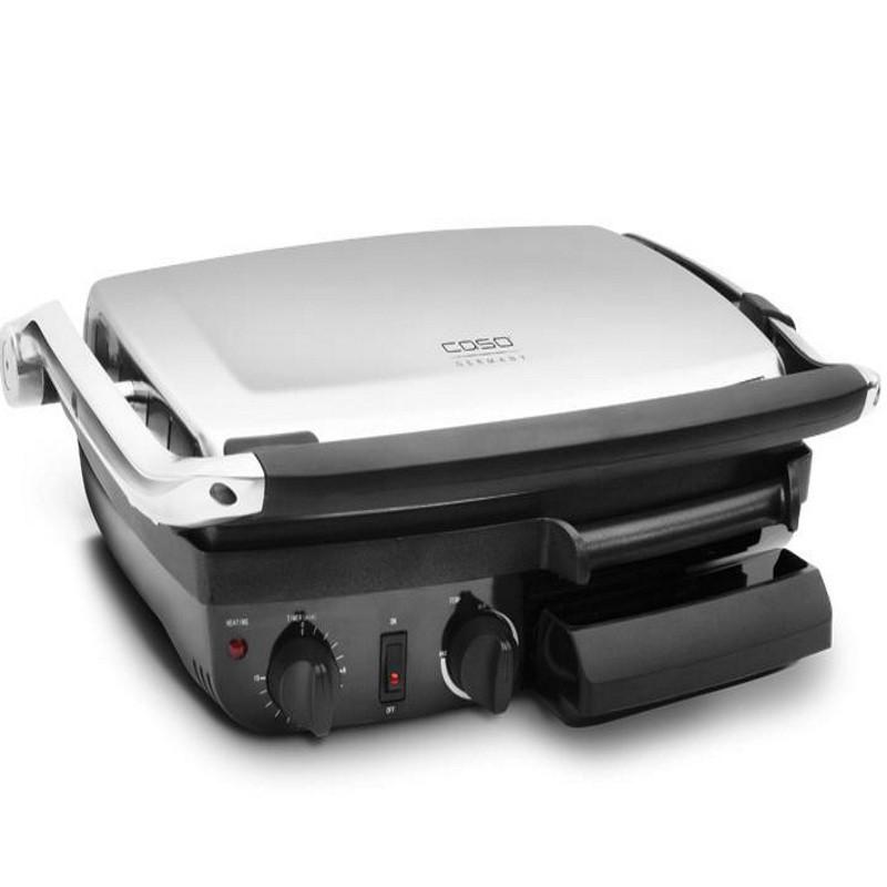 Grill dublu electric Caso BG 2000,2000W,180 grade C,argintiu/negru