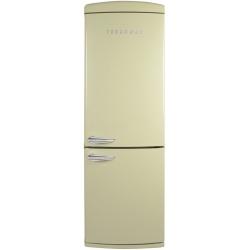 Combina frigorifica Deco Tecnogas COMBI22C, Clasa A+, 335 litri, Latime 60 cm, total No Frost, crem