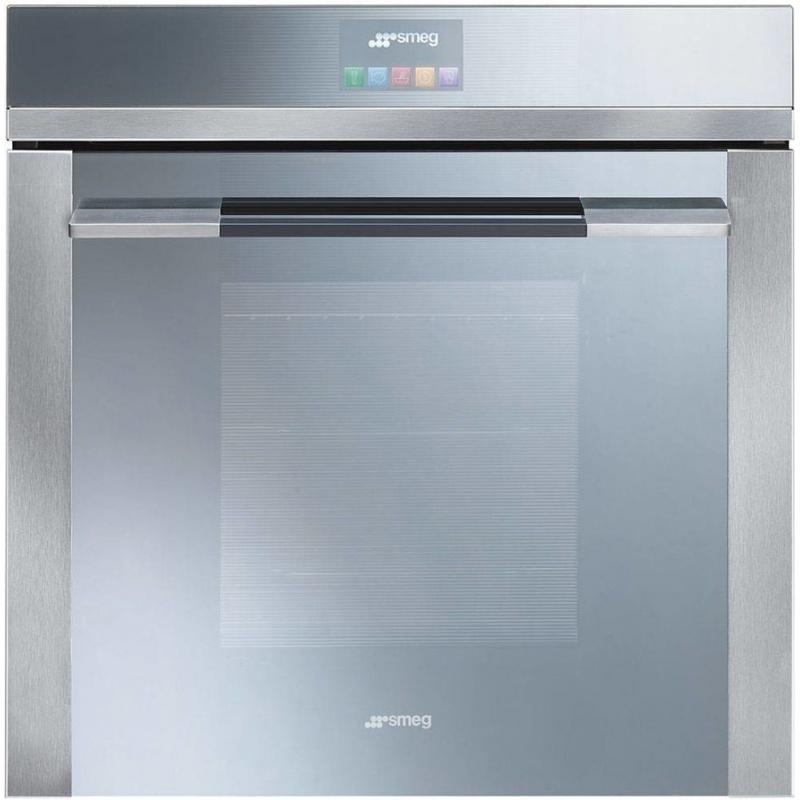 Cuptor incorporabil Smeg Linea SF140E, electric, multifunctional, 60cm, sticla argintie