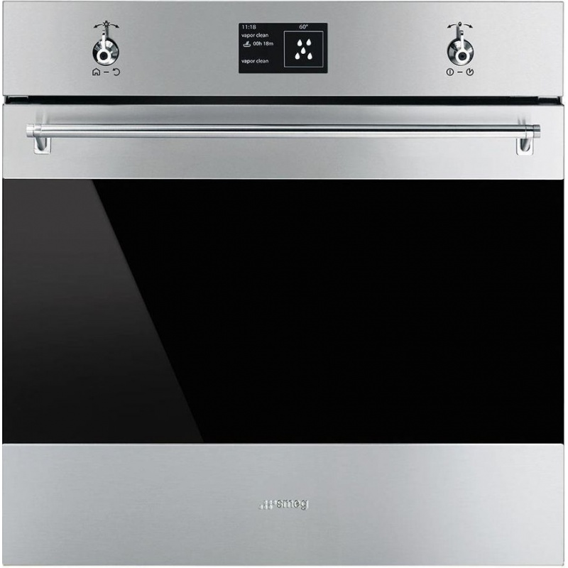 Cuptor incorporabil Smeg Classica SF6395XE, electric, multifunctional, 60cm,inox antiamprenta